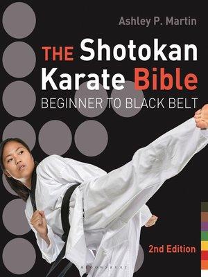 cover image of The Shotokan Karate Bible