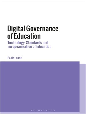 cover image of Digital Governance of Education