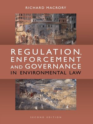cover image of Regulation, Enforcement and Governance in Environmental Law