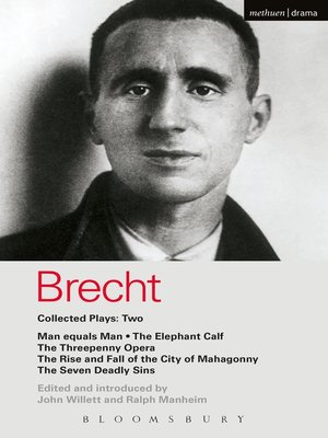 cover image of Brecht Collected Plays, 2