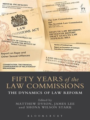 cover image of Fifty Years of the Law Commissions