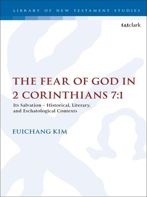 cover image of The Fear of God in 2 Corinthians 7:1