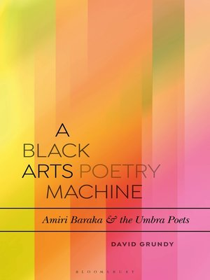 cover image of A Black Arts Poetry Machine