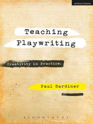 cover image of Teaching Playwriting