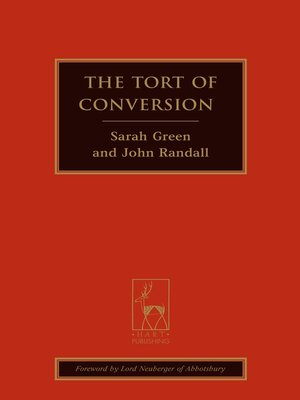 cover image of The Tort of Conversion