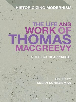 cover image of The Life and Work of Thomas MacGreevy