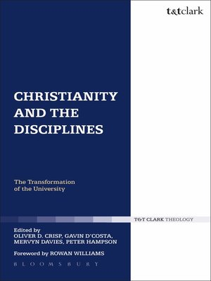 cover image of Christianity and the Disciplines