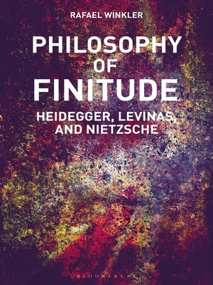 cover image of Philosophy of Finitude