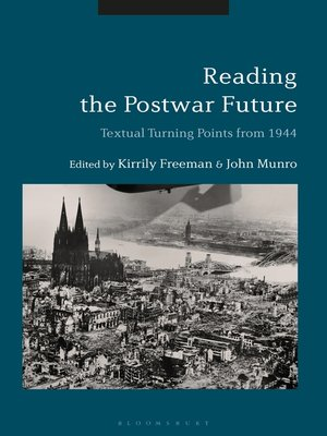 cover image of Reading the Postwar Future