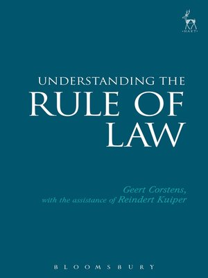 cover image of Understanding the Rule of Law