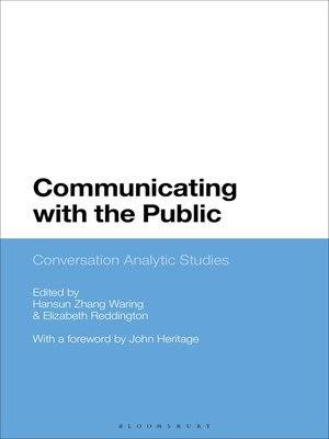 cover image of Communicating with the Public