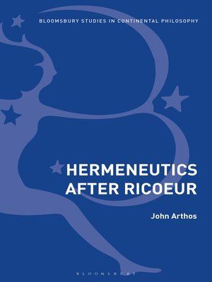 cover image of Hermeneutics After Ricoeur