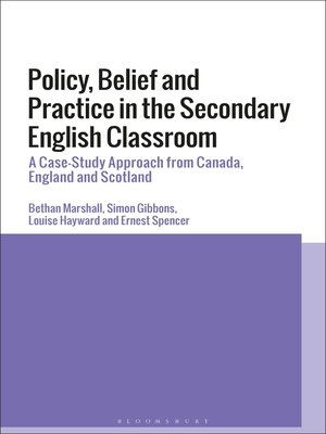 cover image of Policy, Belief and Practice in the Secondary English Classroom