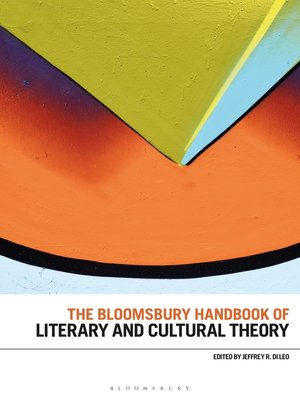 cover image of The Bloomsbury Handbook of Literary and Cultural Theory