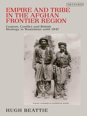 cover image of Empire and Tribe in the Afghan Frontier Region