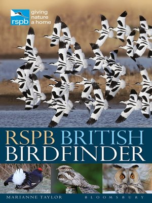 cover image of RSPB British Birdfinder