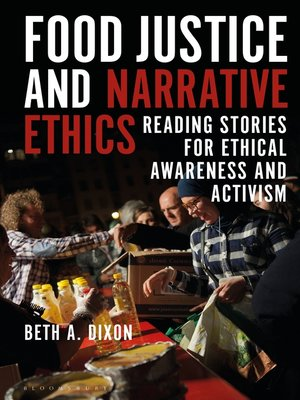 cover image of Food Justice and Narrative Ethics