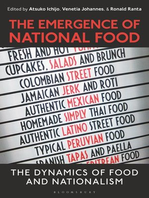 cover image of The Emergence of National Food