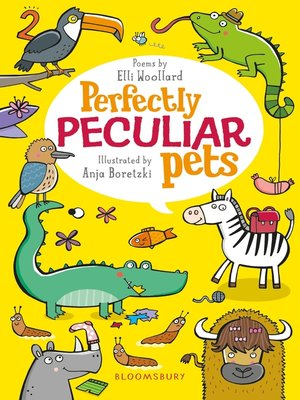 cover image of Perfectly Peculiar Pets