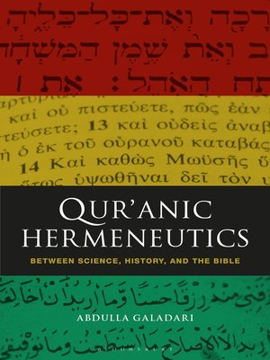 cover image of Qur'anic Hermeneutics