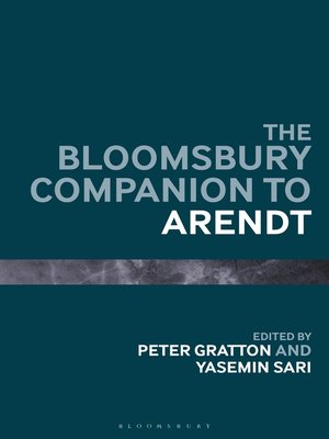 cover image of The Bloomsbury Companion to Arendt