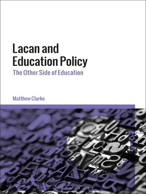 cover image of Lacan and Education Policy