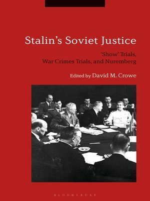 cover image of Stalin's Soviet Justice