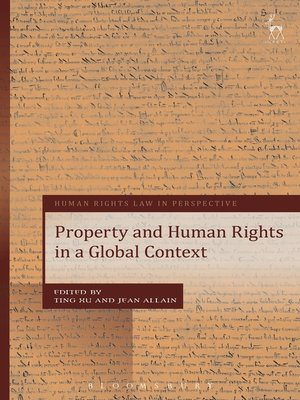 cover image of Property and Human Rights in a Global Context