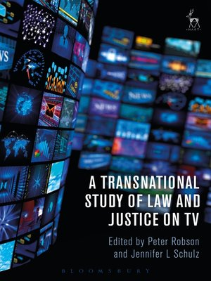 cover image of A Transnational Study of Law and Justice on TV