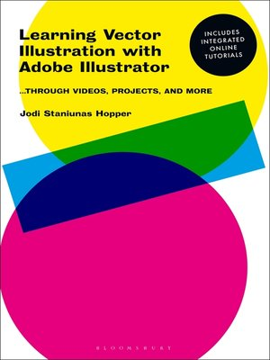 cover image of Learning Vector Illustration with Adobe Illustrator