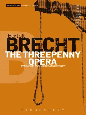 cover image of The Threepenny Opera