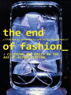 cover image of The End of Fashion