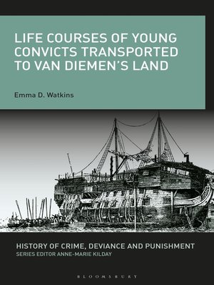 cover image of Life Courses of Young Convicts Transported to Van Diemen's Land