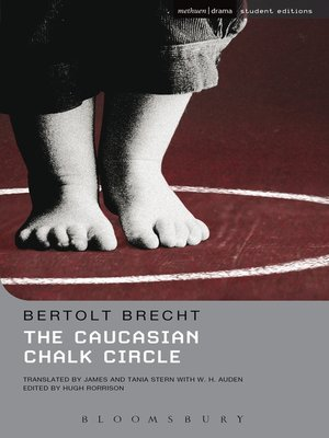cover image of The Caucasian Chalk Circle
