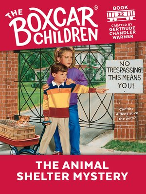 cover image of The Animal Shelter Mystery