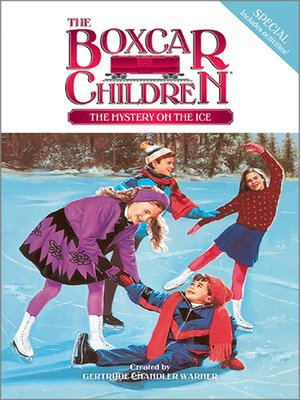 cover image of The Mystery on the Ice