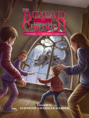 cover image of The Mystery of the Grinning Gargoyle