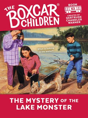 cover image of The Mystery of the Lake Monster