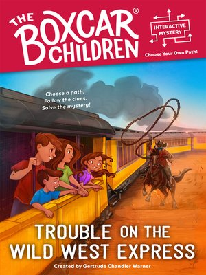 cover image of Trouble on the Wild West Express