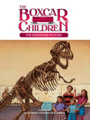 cover image of The Dinosaur Mystery