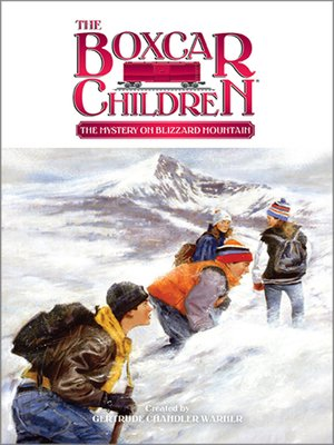 cover image of The Mystery on Blizzard Mountain