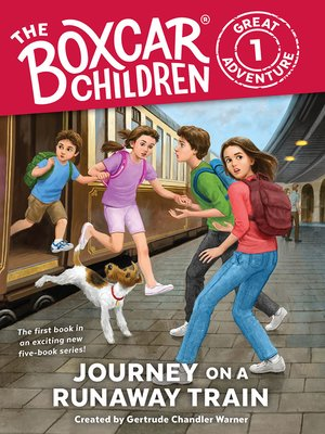 cover image of Journey on a Runaway Train