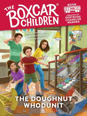 cover image of The Doughnut Whodunit