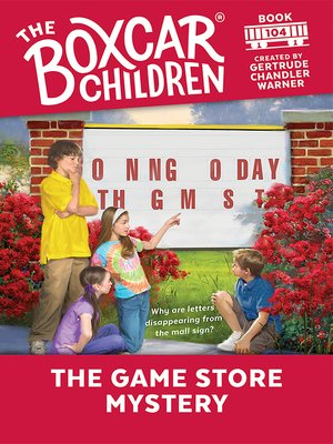 cover image of The Game Store Mystery