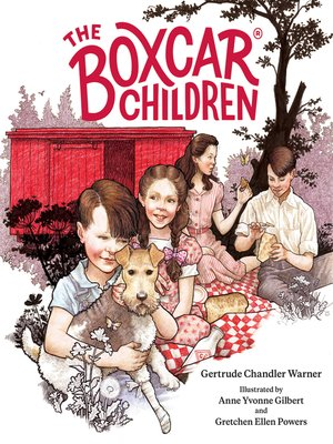 cover image of The Boxcar Children Fully Illustrated Edition