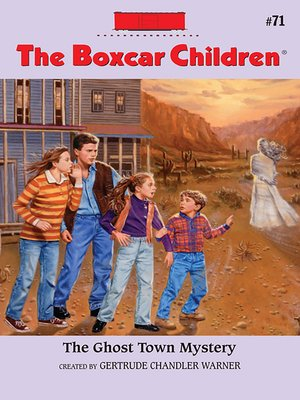cover image of The Ghost Town Mystery