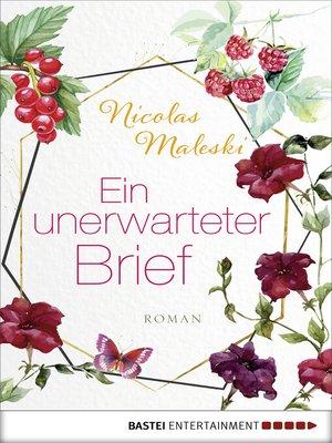 cover image of Ein unerwarteter Brief