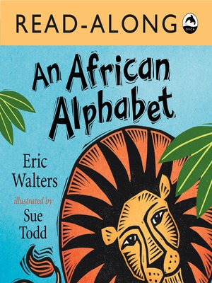 cover image of An African Alphabet Read-Along