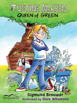 cover image of Justine McKeen, Queen of Green