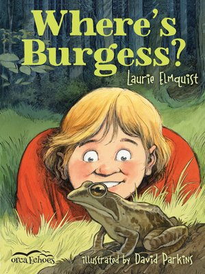 cover image of Where's Burgess?